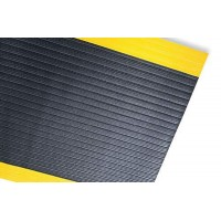 Anti-Fatigue Safety Sponge Mats with Yellow Border