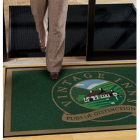 Jet Print Logo Mats with PVC Backing